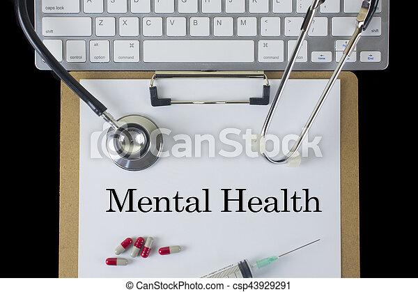 Mental Health - csp43929291