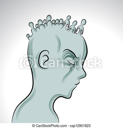 Mental Illness - csp12901823