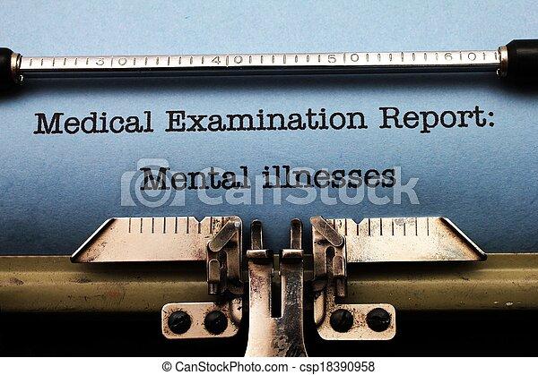 Mental illness - csp18390958