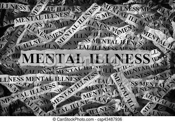 Mental illness - csp43487936