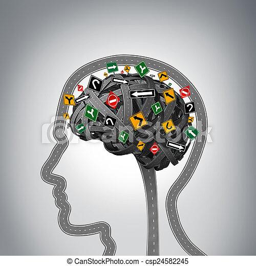 Mental Stress - csp24582245