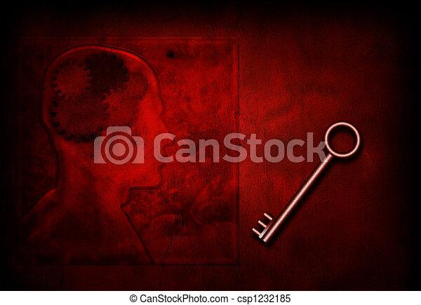 Llave de la mente - csp1232185