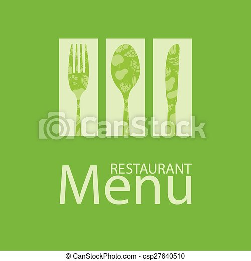menu, carte, restaurant - csp27640510