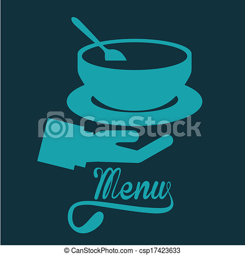 menu, disegno - csp17423633