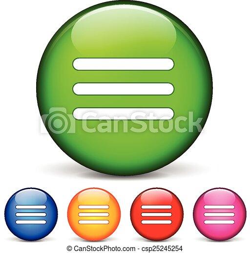 menu, icone - csp25245254