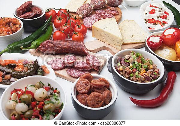 spansk tapas meny