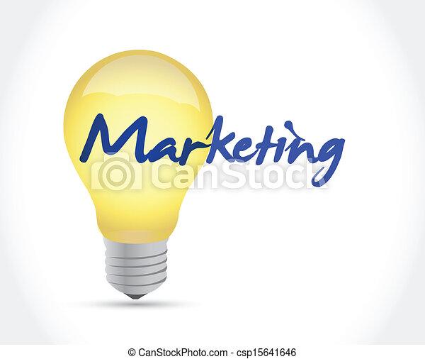 Diseño de ilustraciones de marketing - csp15641646