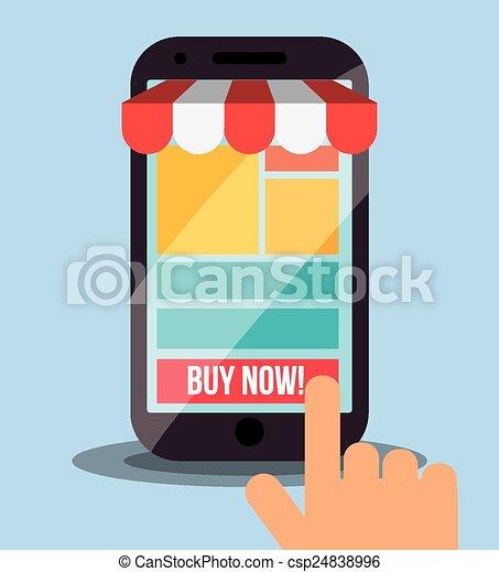 Marketing en línea - csp24838996