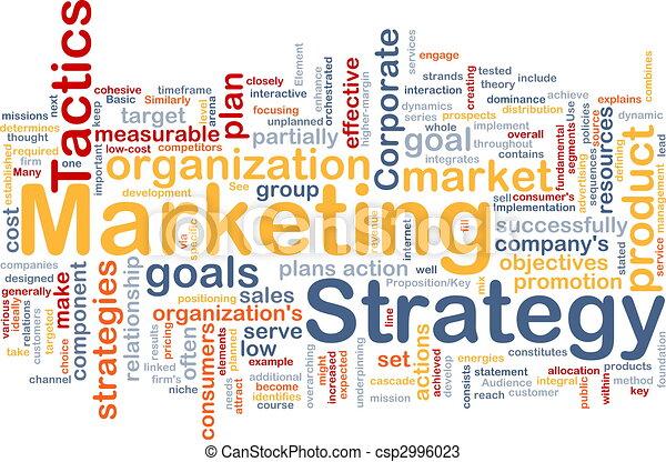 Neblina estratégica de mercado - csp2996023