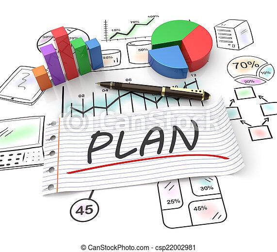 mercadotecnia, planificación - csp22002981