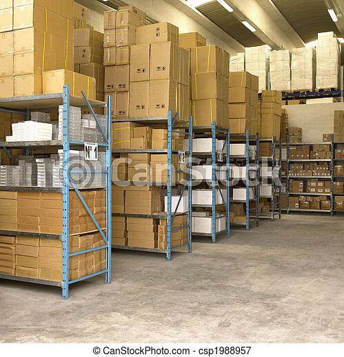 Merchandise Stocking - csp1988957