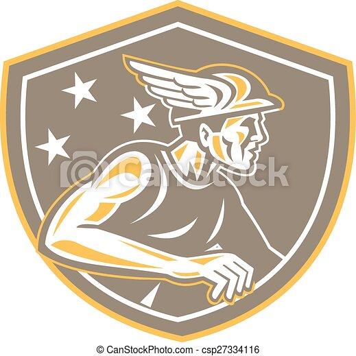 Mercury Looking Side Shield Retro - csp27334116