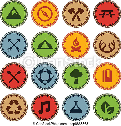 Merit badges - csp8868868