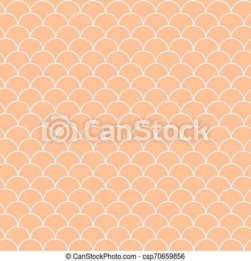 Mermaid Scale Seamless Pattern
