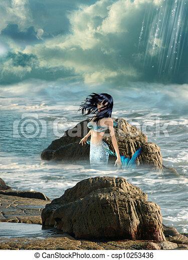 mermaid - csp10253436