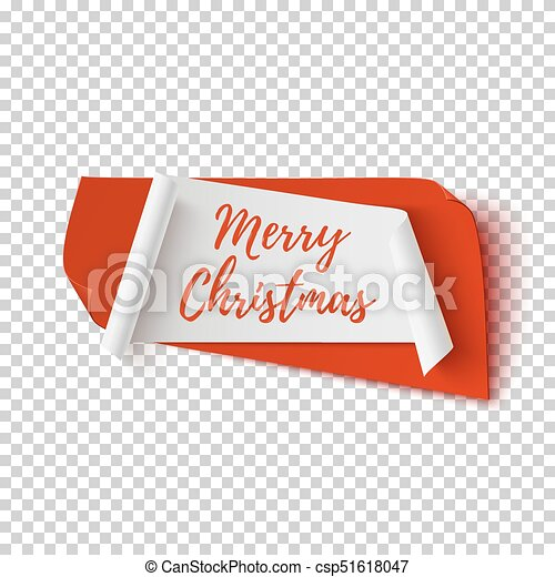 Merry Christmas No Background.Merry Christmas Abstract Red And White Banner