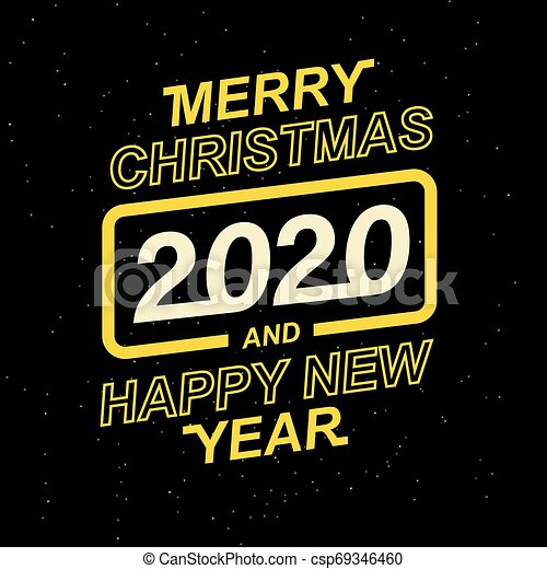 Merry Christmas Images 2020.Merry Christmas And Happy New Year 2020 For Your Seasonal Leaflets And Greeting Cards Or Christmas Themed Invitations
