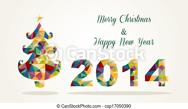 Merry christmas and happy new year contemporary greeting card merry merry christmas and happy new year contemporary greeting card csp17050390 m4hsunfo
