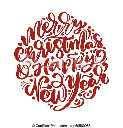 Happy New Year Lettering Design 23