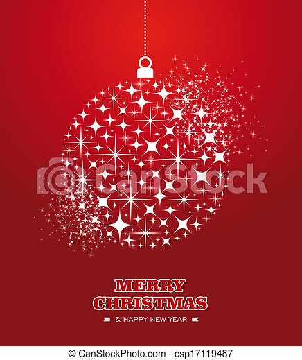 Merry christmas and happy new year stars bauble card merry merry christmas and happy new year stars bauble card csp17119487 m4hsunfo