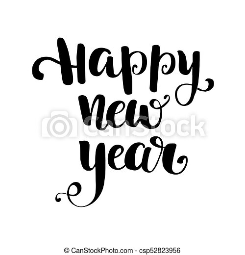 Happy New Year Lettering Design 38