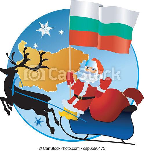 Merry Christmas, Bulgaria! - csp6590475