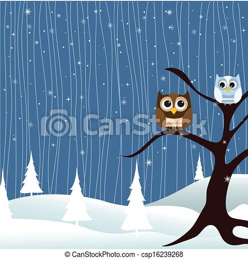 Merry Christmas Card - csp16239268
