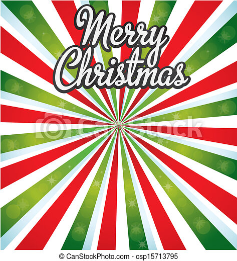 Merry Christmas Card - csp15713795