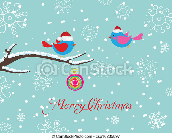 merry christmas card - csp16235897