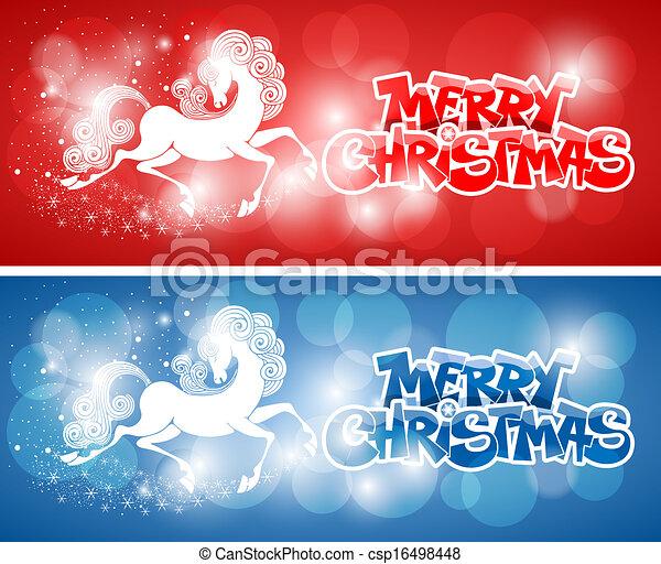 Merry Christmas card - csp16498448