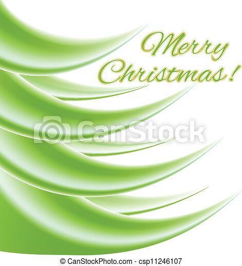 Merry Christmas Card - csp11246107
