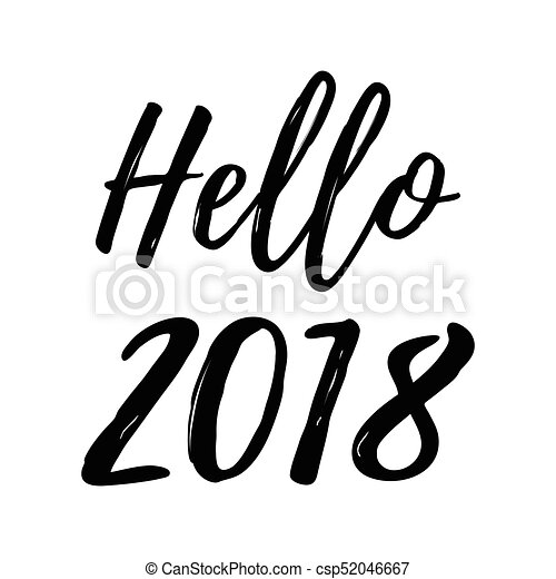 merry christmas card with calligraphy hello 2018 template for greetings congratulations housewarming posters invitations photo overlays vector