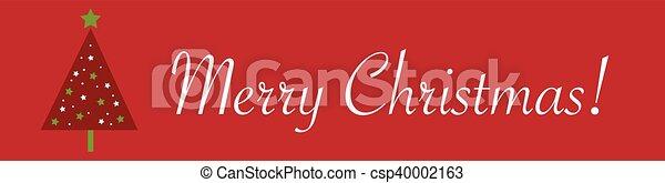 Merry Christmas - csp40002163