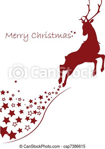merry christmas - csp7386615
