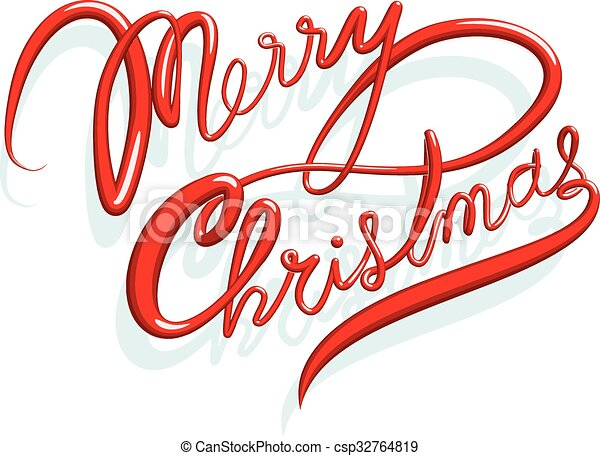 Merry Christmas In Cursive.Merry Christmas Cursive Text