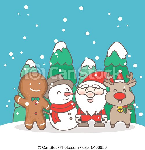 Christmas Day Clipart.Merry Christmas Day