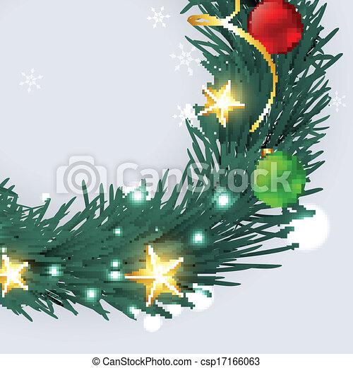 merry christmas design - csp17166063