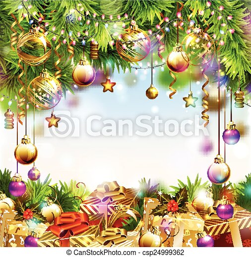 Merry Christmas design - csp24999362