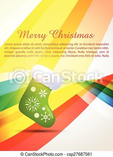 merry christmas design - csp27687561