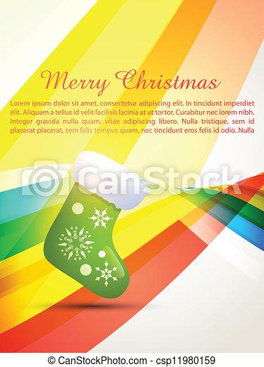 merry christmas design - csp11980159