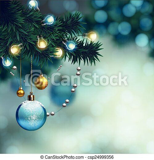 Merry Christmas design - csp24999356