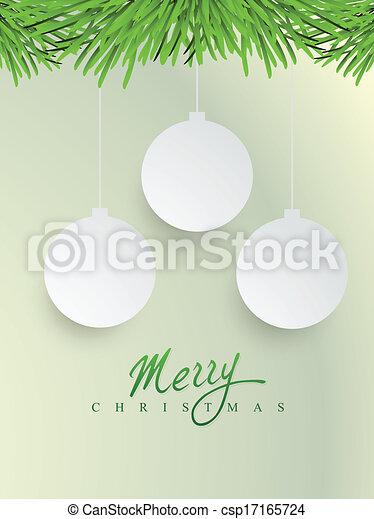 merry christmas design - csp17165724