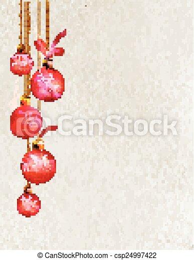 Merry Christmas design - csp24997422