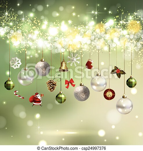 Merry Christmas design - csp24997376