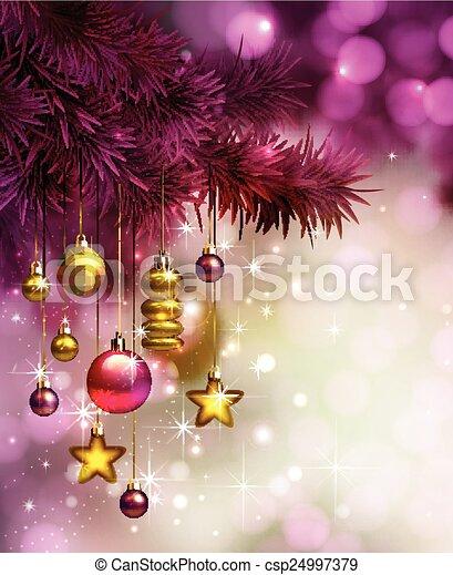 Merry Christmas design - csp24997379