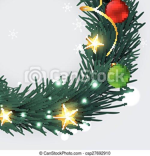 merry christmas design - csp27692910