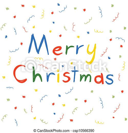 Merry Christmas - csp10566390