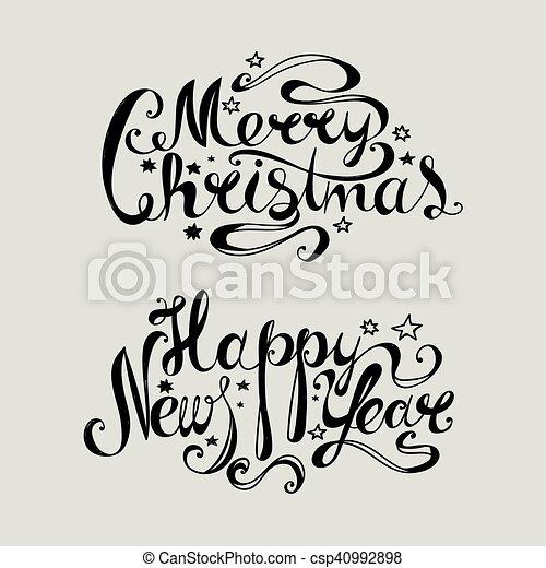 merry christmas - csp40992898