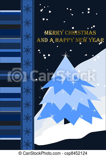 Merry Christmas - csp8452124