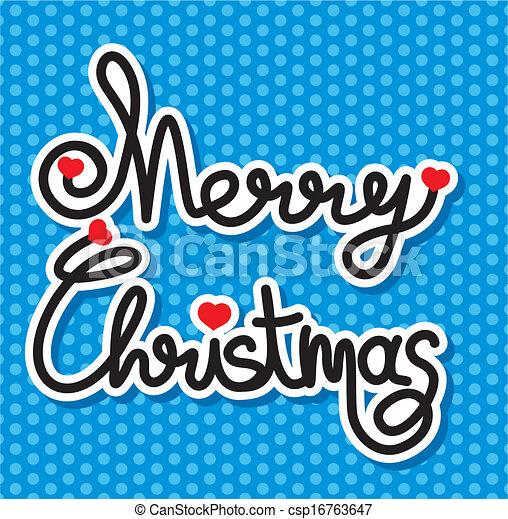 merry christmas - csp16763647